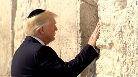 Trumpwesternwalljerusalemcnn